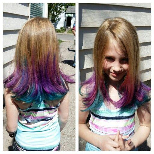 Joico Intensity Aqua Wildorchid Babypink Kids Hair Color