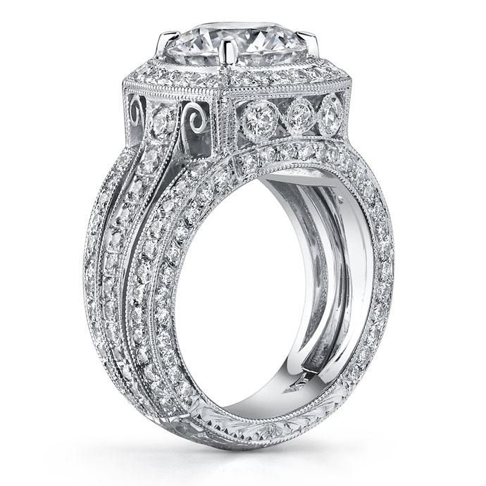 Extraordinary Philip Press Custom Engagement Ring by Philip Press