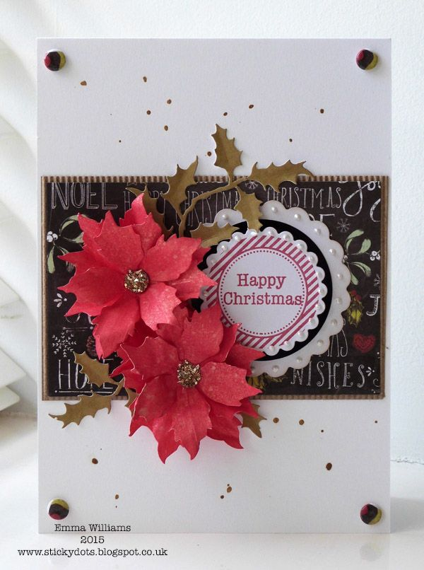 Craftwork Cards Blog: Christmas In July... by Emma Williams ...