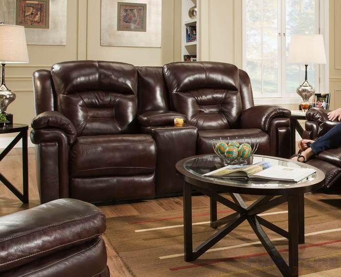 Quality Furniture Southern Motion Avatar Double Reclining Loveseat With  Power Headrest 843 51p