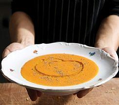 מרק עגבניות ואורז (הגדל)