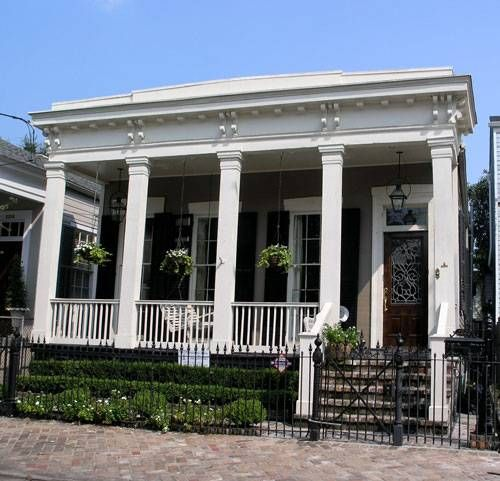 New orleans home exteriors pinterest front porches for New orleans style homes