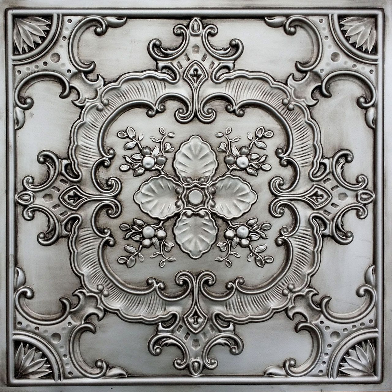 Faux Tin Ceiling Tile – 24 in x 24 in – #DCT 19