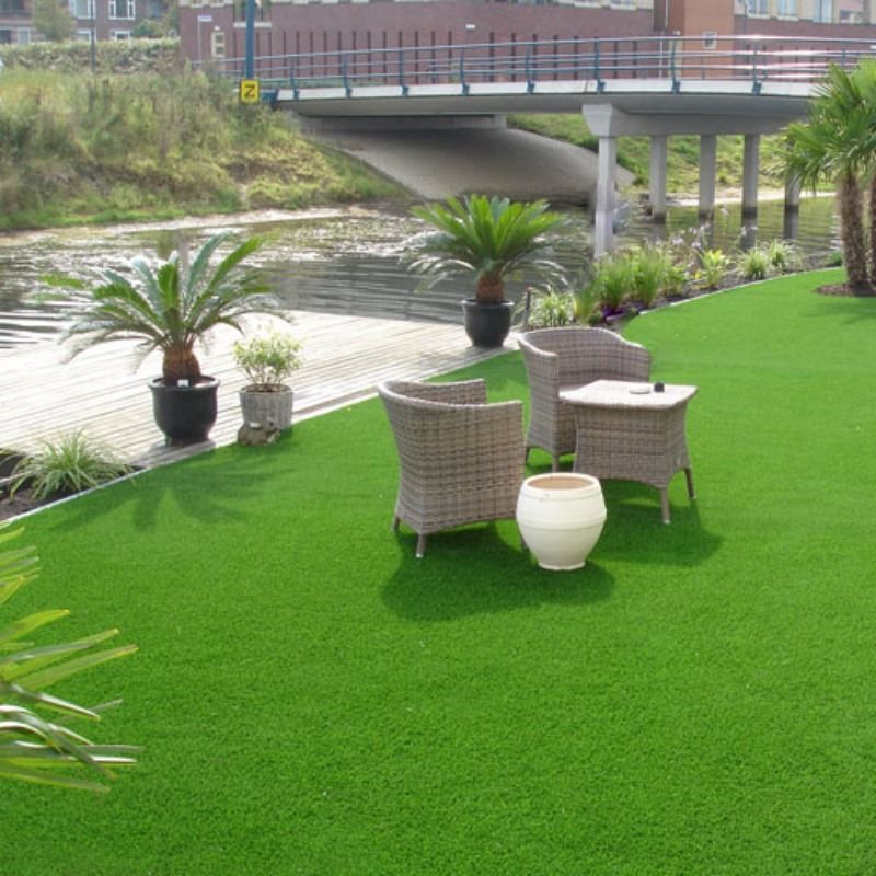 Who Would Relax Here Outdoor Furniture Sets Artificial Turf Grass