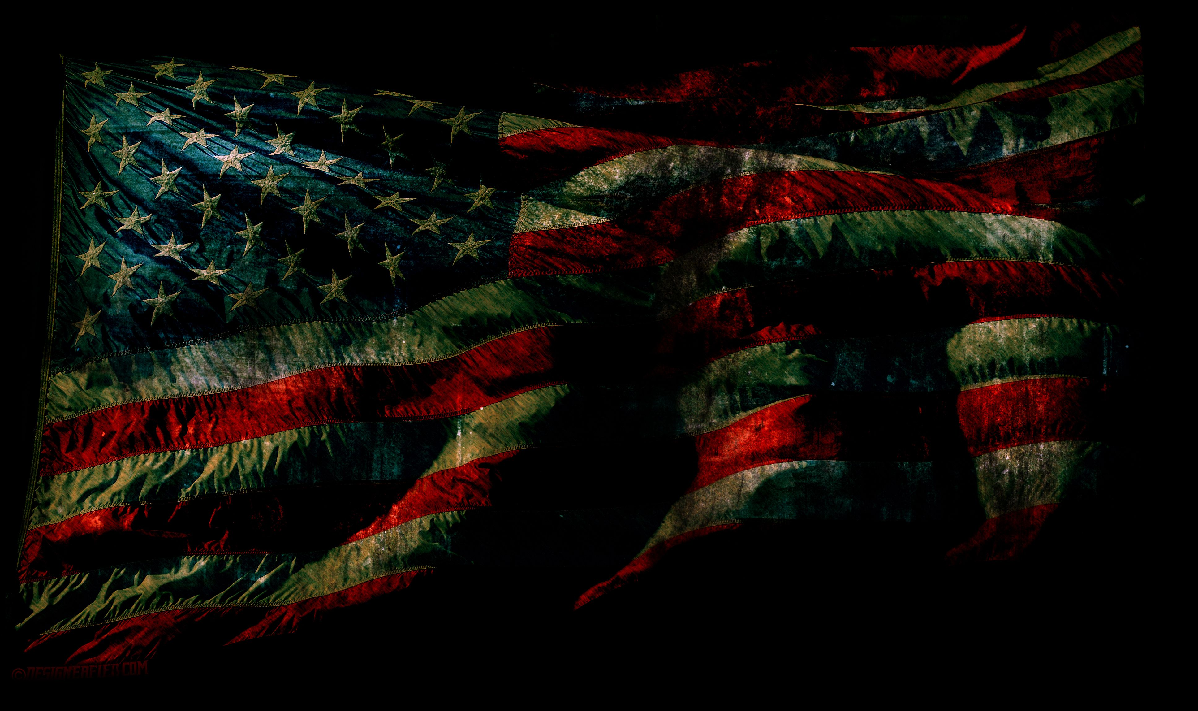 Grunge American Flag Wallpaper And Psd American Flag Background
