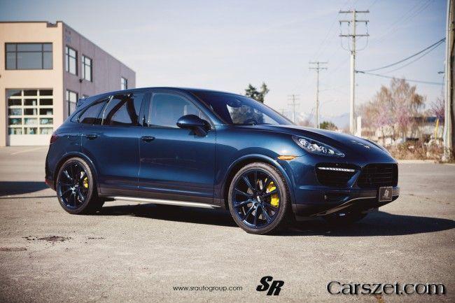 2018 2019 Porsche Cayenne Disk Blue Bbs Rims By Sr Auto Group
