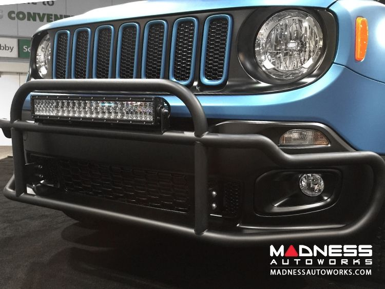 Jeep Renegade Front Bumper Bar By Madness Jeep Coches Compras
