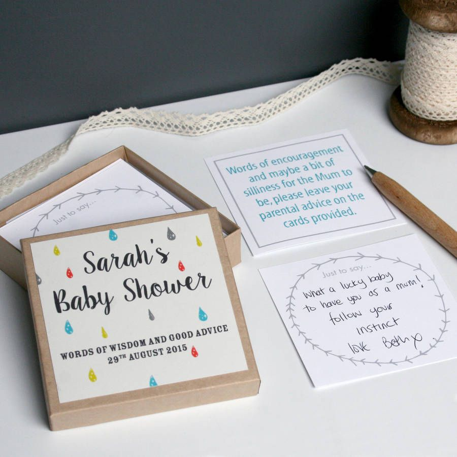 bridal shower keepsake book%0A Are you interested in our Personalised Baby Shower Message Box  With our  mum to be