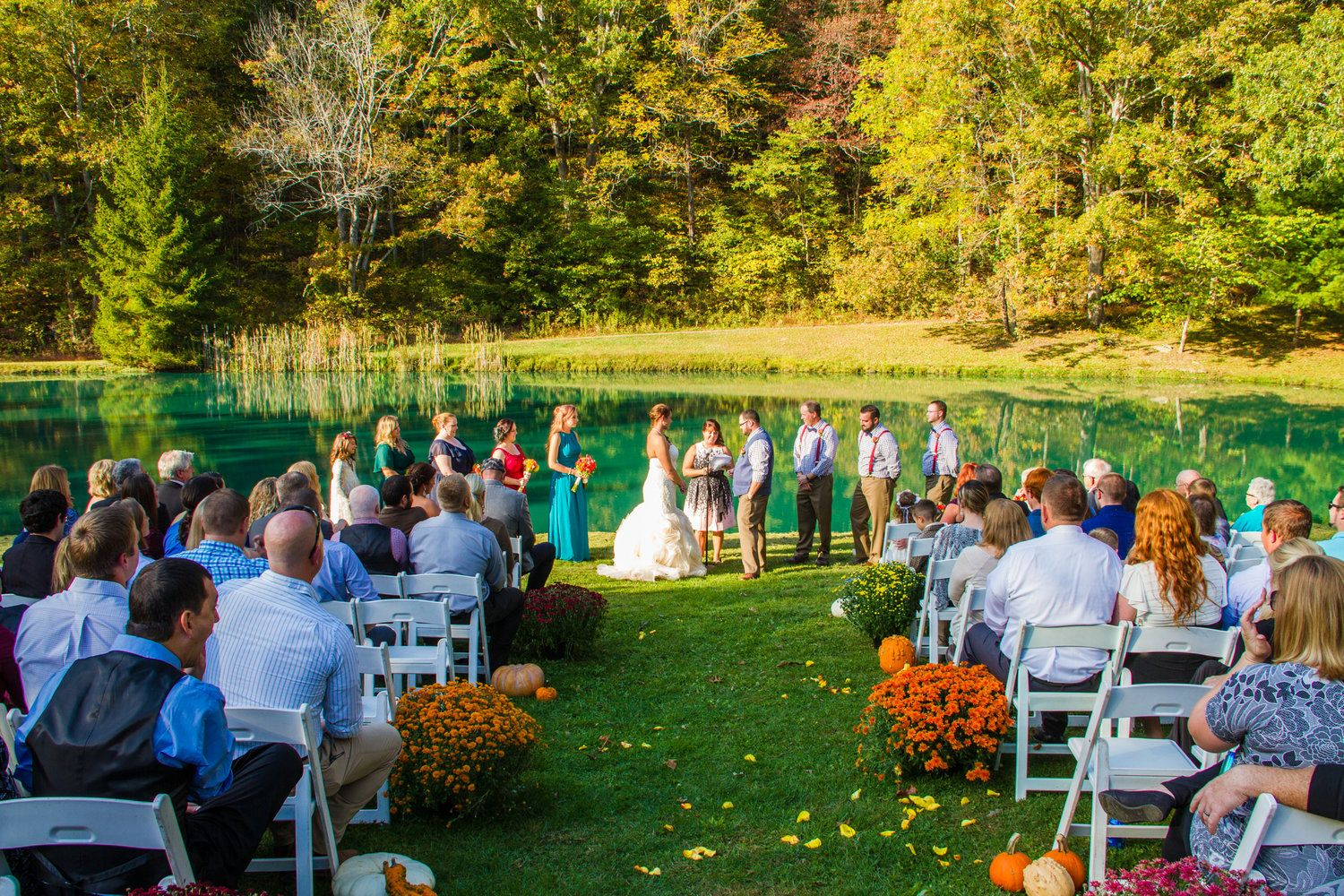 Outdoor Wedding, Foxwood Inn Bed and Breakfast, Britt