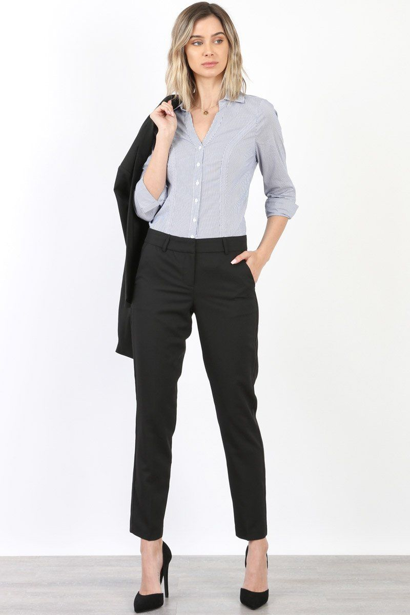 Women S Cool Tropical Career Office Wear Pants Womens Winter Fashion Outfits Womens Fashion Casual Work Business Casual Outfits [ 1200 x 800 Pixel ]