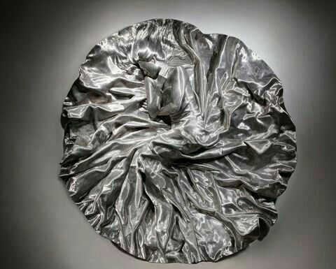 Sculpted from wrapped aluminum wire