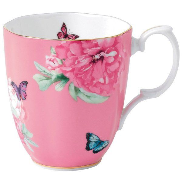 Miranda has skillfully tapped into her striking sense of style and long-standing love of afternoon tea to create this delightfully feminine collection of fine bone china. The Friendship pattern is adorned with peonies on a white background; the perfect canvas for blooms and butterflies to really stand out.