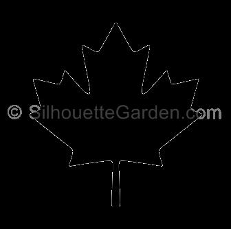 Canadian Maple Leaf Silhouette Leaf Silhouette Canadian Maple Leaf Silhouette Clip Art