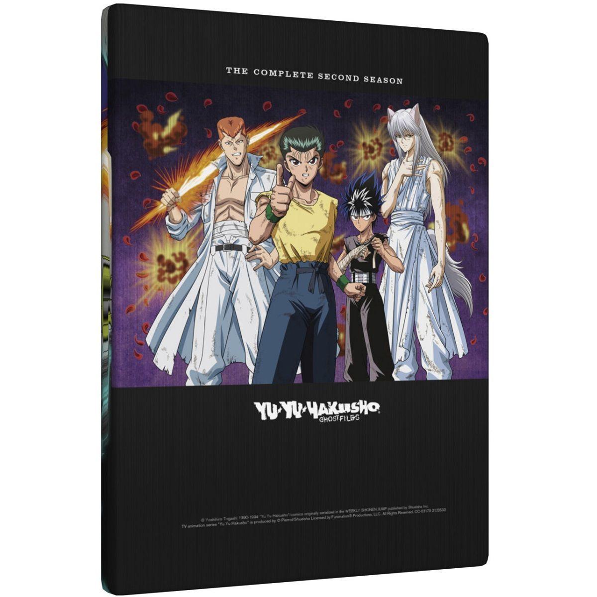 Yu Yu Hakusho Season 2 Steelbook Bluray Seasons, Season