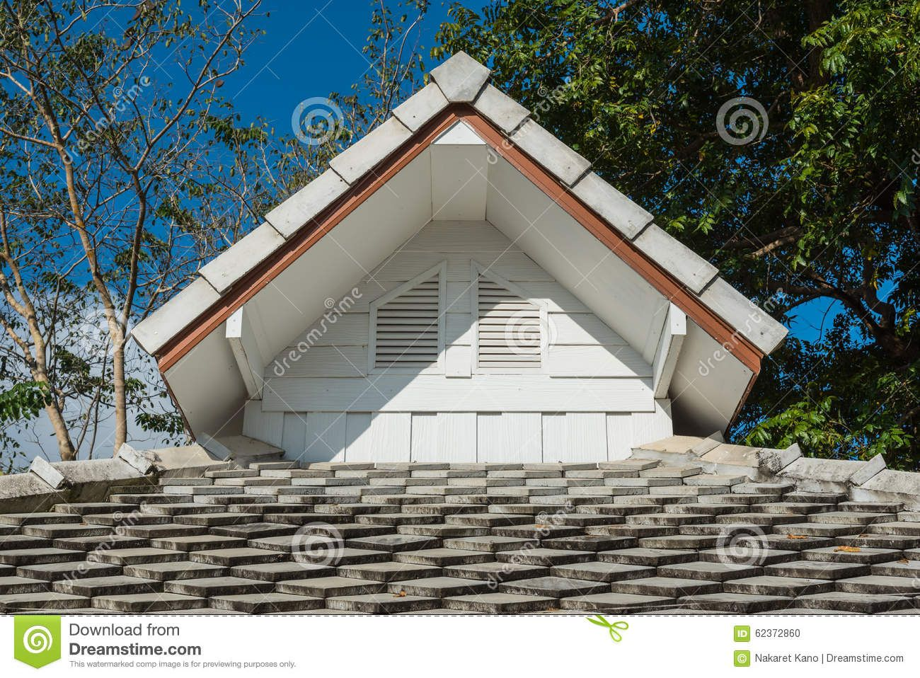 Best Roof Gable With Concrete Roof Tile Download From Over 65 400 x 300