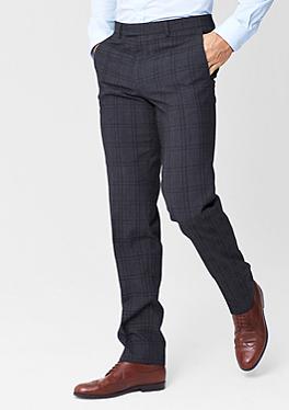 new style ec292 3c2fa Regular: Karierte Businesshose im s.Oliver Online Shop   MX ...