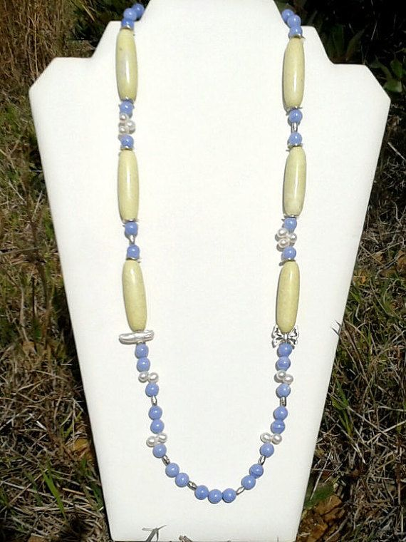 SPECIAL OFFER Long Multi Gemstone Beaded by AngelSCollection