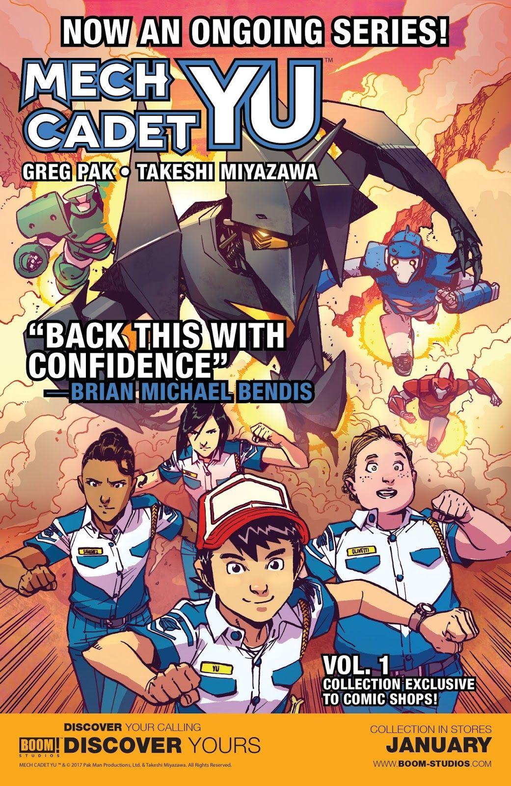 Mech Cadet Yu Issue #4 - Read Mech Cadet Yu Issue #4 comic online in ...