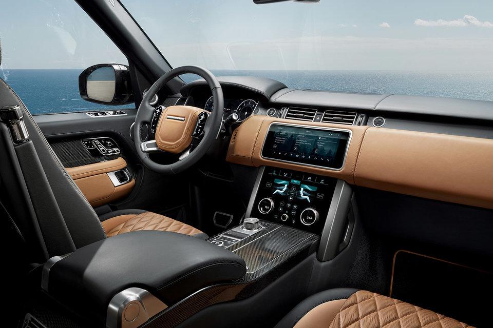 2022 Range Rover Svautobiography Ultimate Suv In 2021 Range Rover Interior Range Rover Hse Range Rover Sport Black