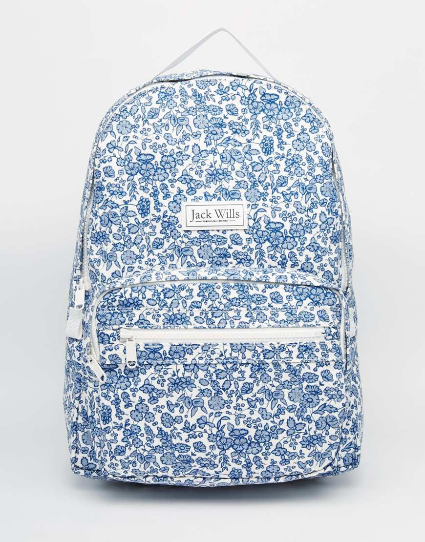 Image 1 of Jack Wills Classic Canvas Backpack | Bags, Womens