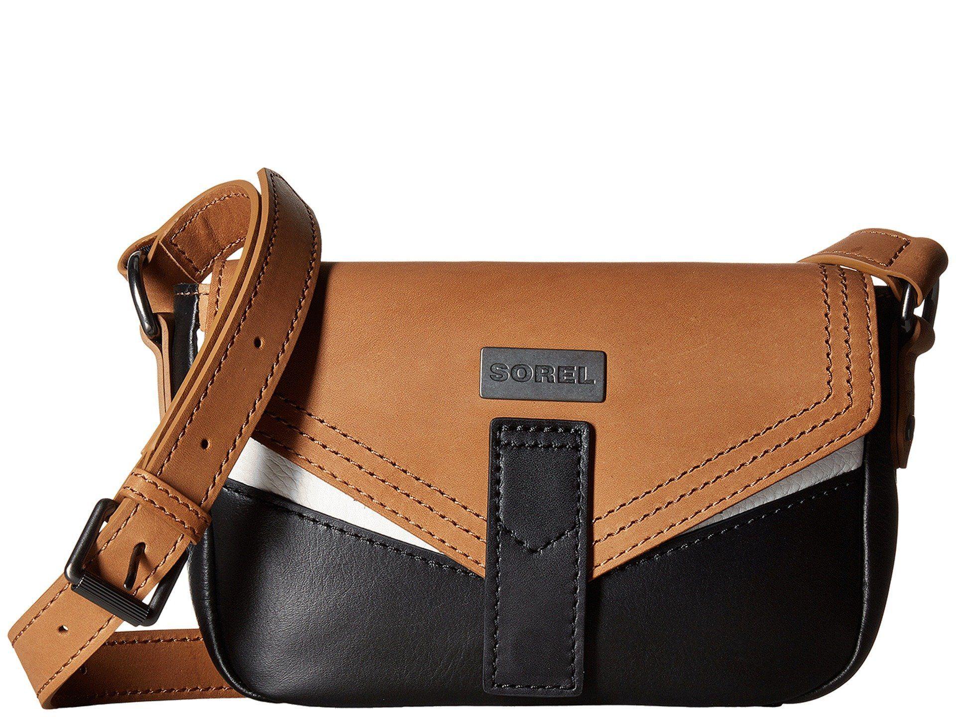 922235ee76 SOREL Small Crossbody.  sorel  bags  shoulder bags  leather  nylon   crossbody  lining