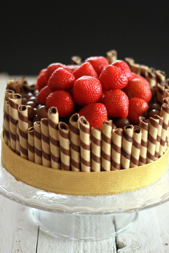Lorraine Pascale Chocolate Cigarillo Cake