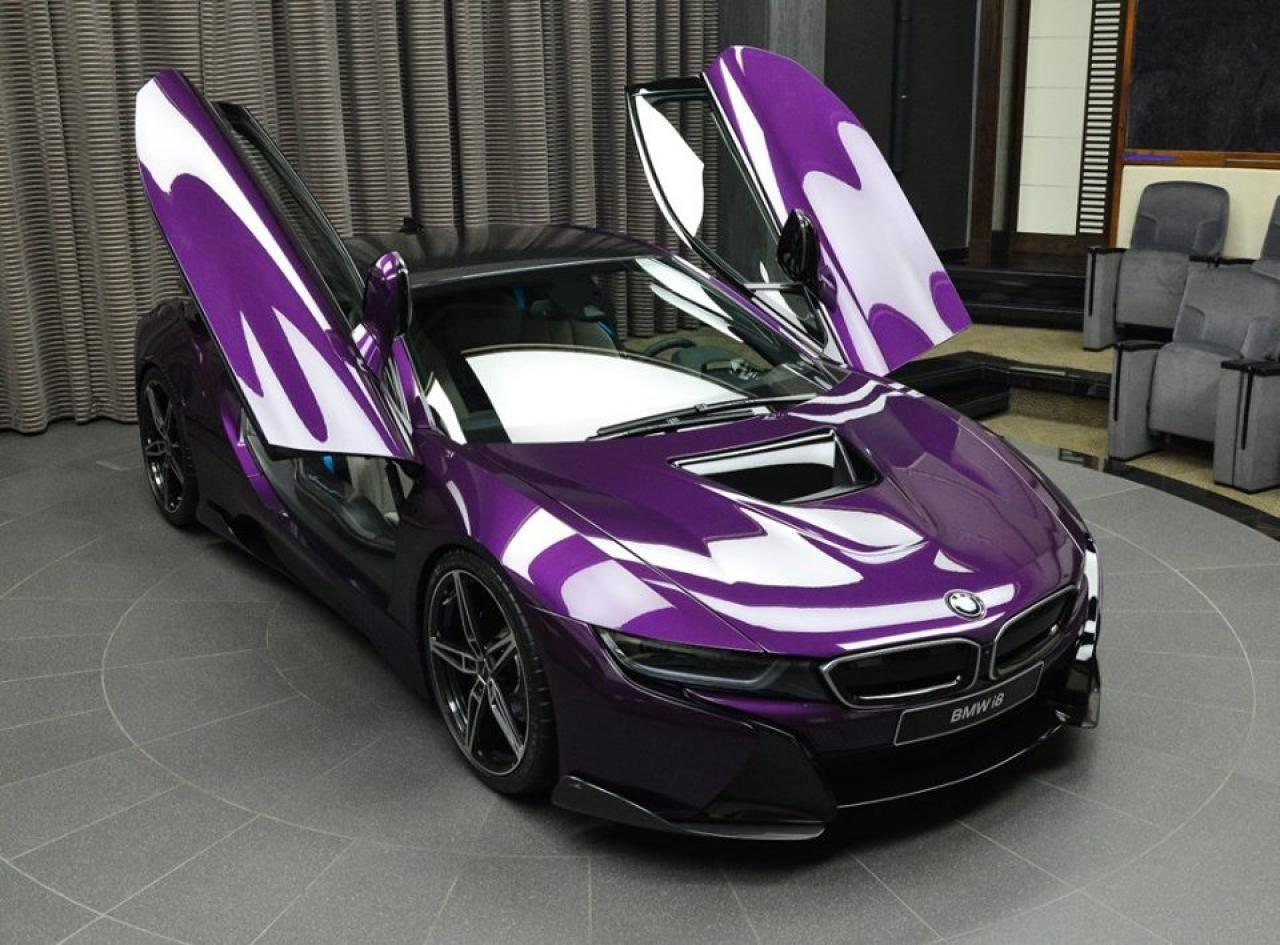Twilight Purple Bmw I8