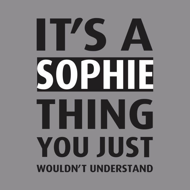 Bedeutung Name Sophie