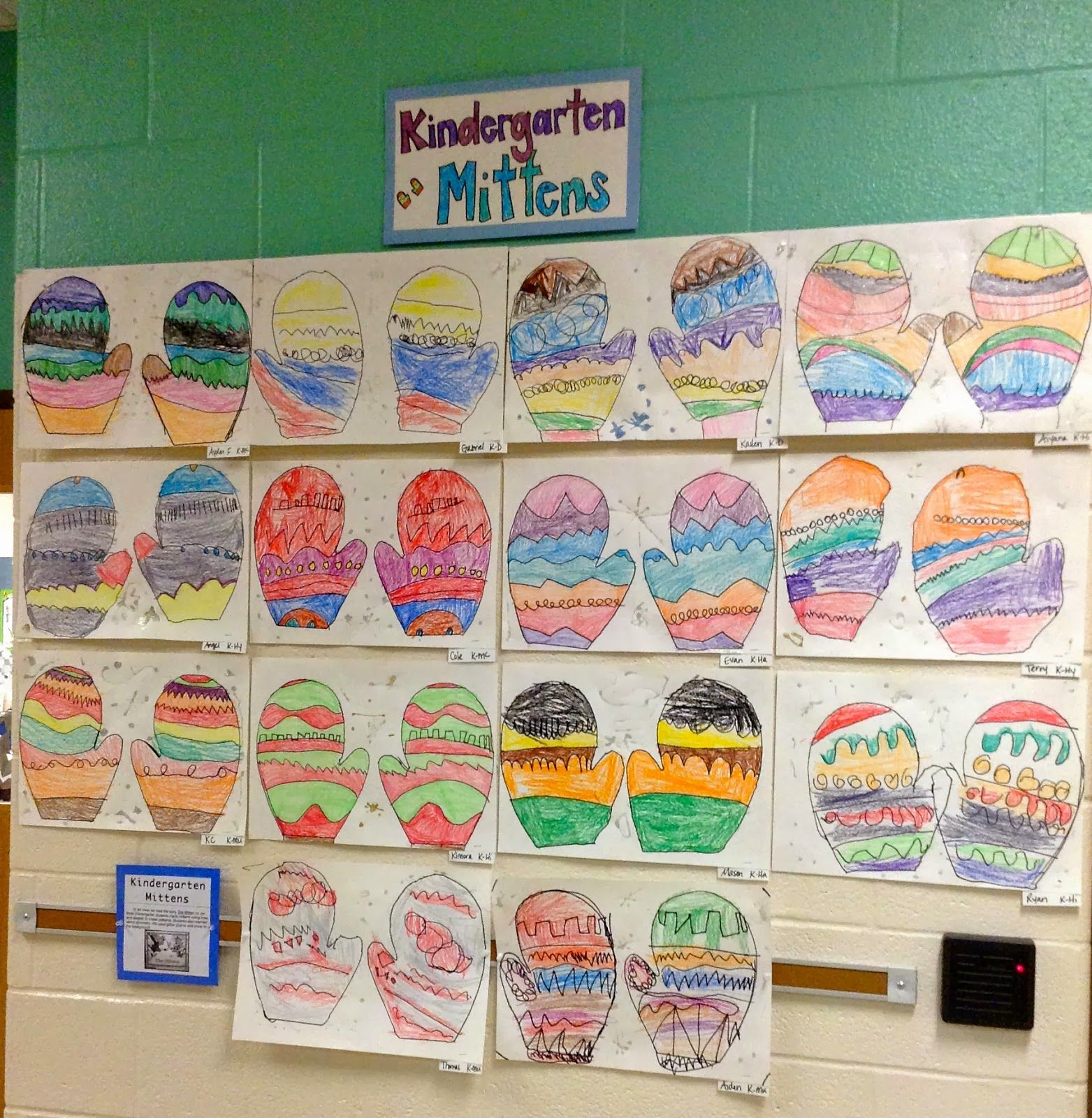 Kindergarten The Mitten