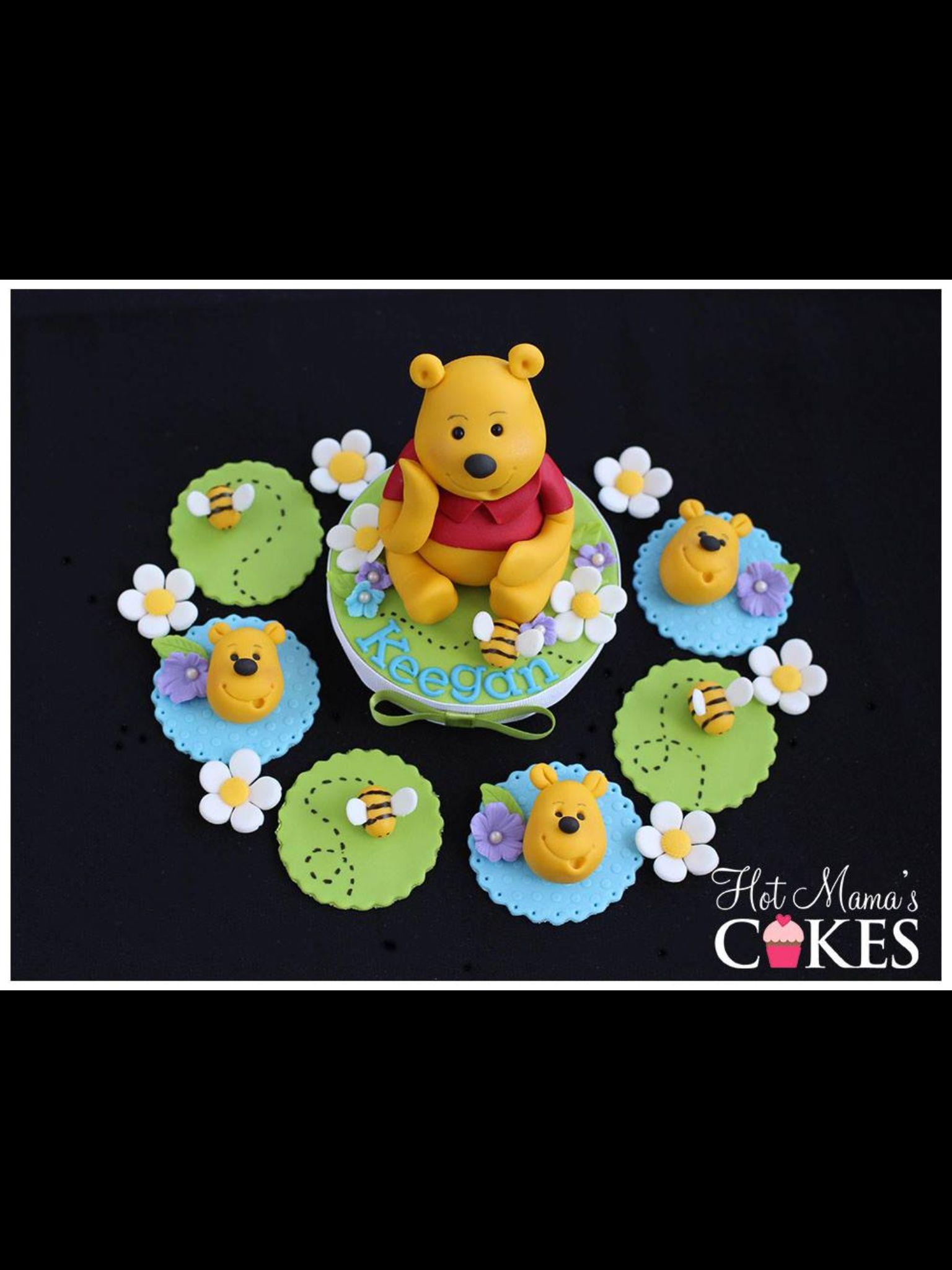 Winnie the pooh cupcakes cake pinterest torten - Winnie pooh kuchen deko ...