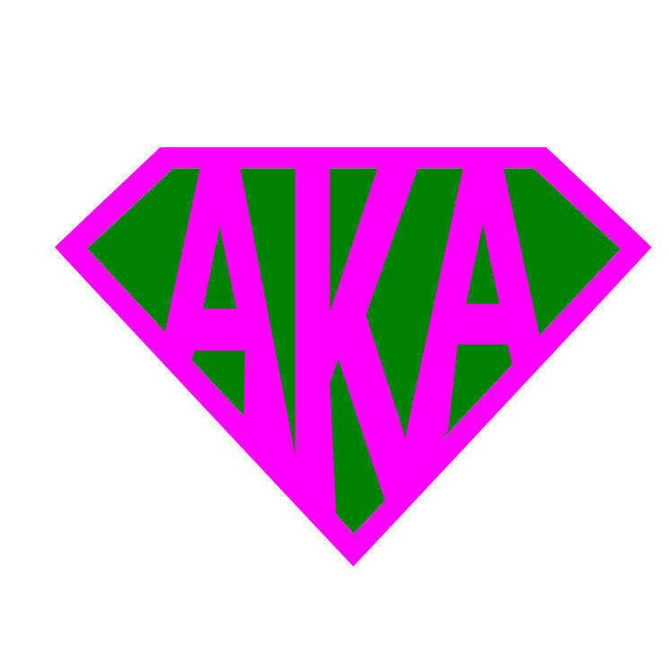Super AKA, AKA Sorority SVg, Alpha Kappa Alpha, Cricut SVG