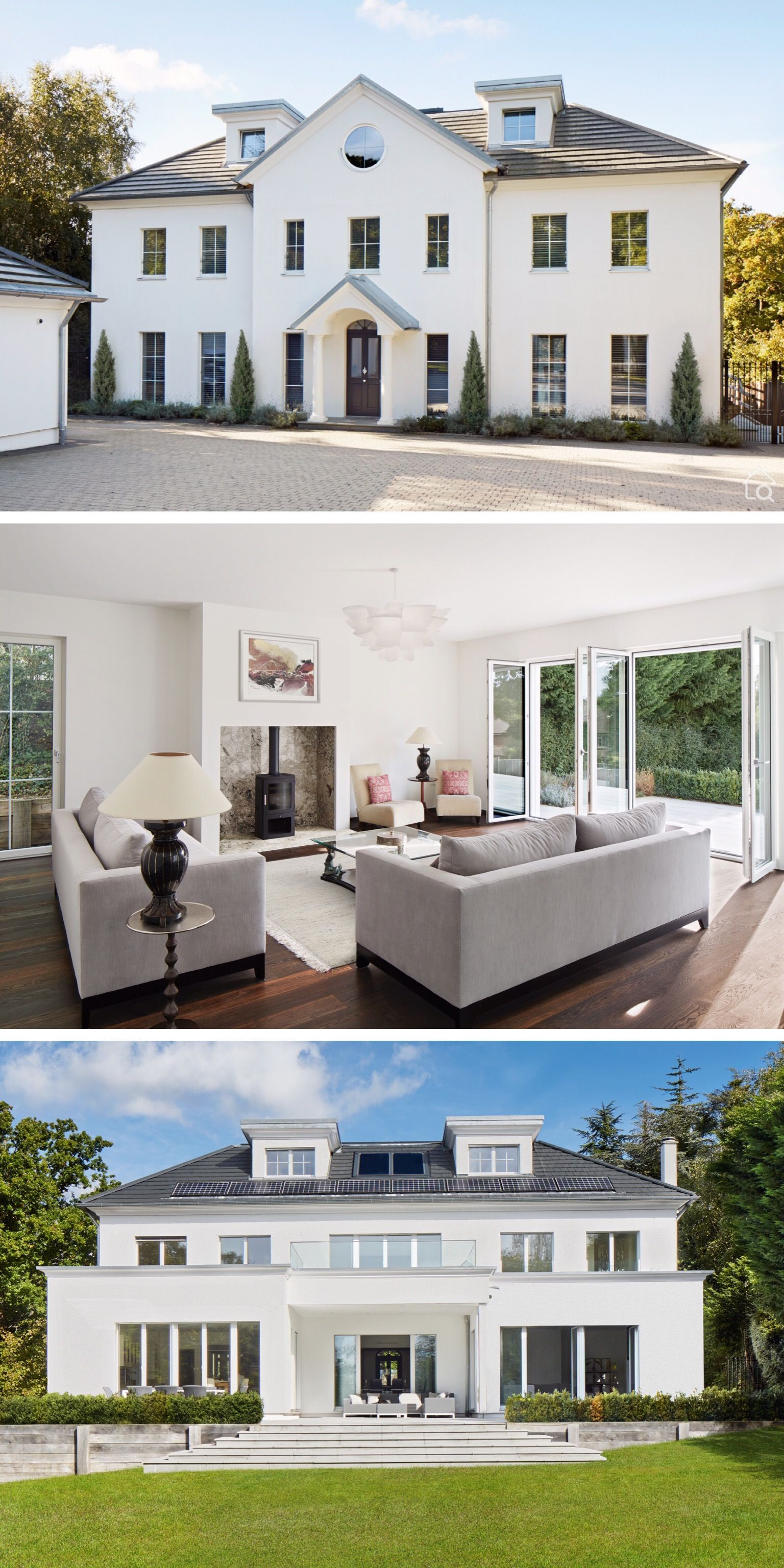 Luxus Landhaus Villa ATHERTON Baufritz