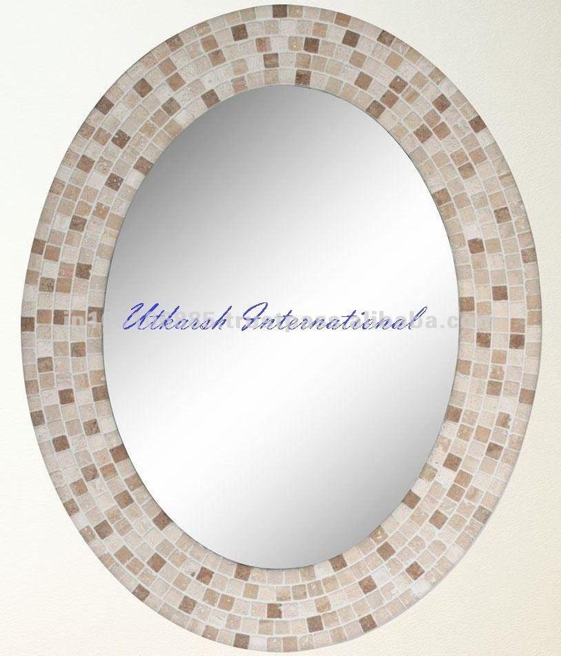 Marcos de espejos antiguos/del mosaico del espejo marcos-Espejo ...