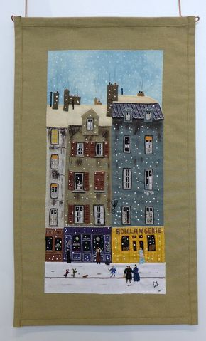 NADELWELT 2016 (With images) House quilts, House quilt