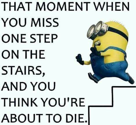 Misstep Funny Minion Quotes Funny Quotes Minions Funny