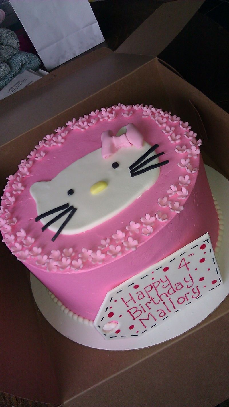 Simple Hello Kitty Cake Hello Kitty Cakes Pinterest Hello