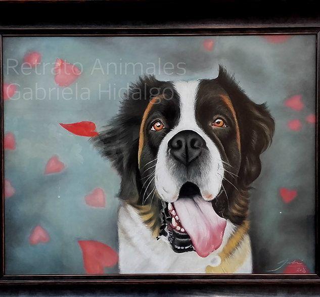 Retratos de mascotas y animales por encargo. Un rega… | Retratos de ...