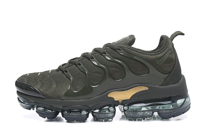 Nike Vapormax 2018 Tn Plus Camo Green Golden Men Shoes Nike Air Nike Air Max Tn Nike Air Max Plus