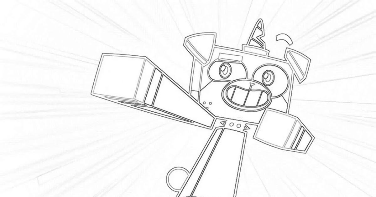 Unikitty Cartoon Network Coloring Pages Unikitty With Rainbow Lineart Coloring Pages Printable In 2020 Lego Movie Coloring Pages Coloring Pages Paw Patrol Printables
