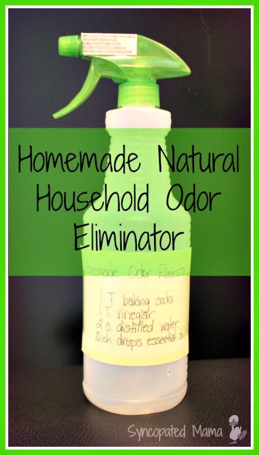 Homemade Natural Household Odor Eliminator Homemade Cleaning