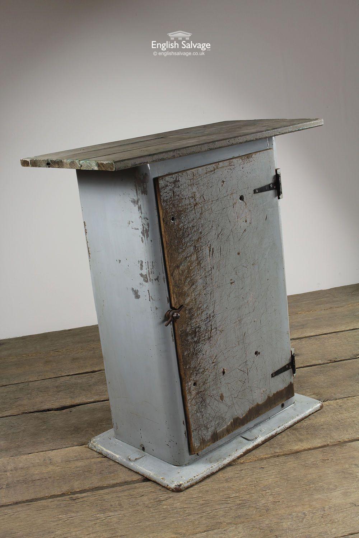 Vintage Industrial Repurposed Table Vintage
