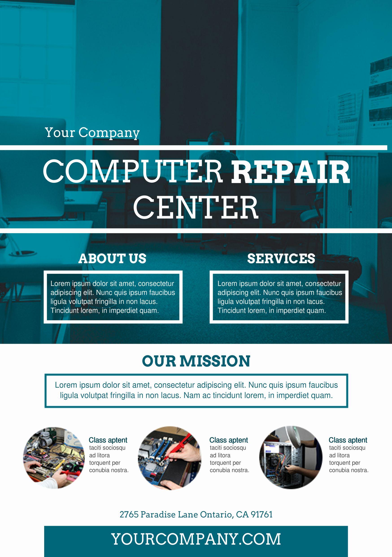Free Computer Repair Flyer Template Elegant Puter Repair Flyer Template Yourweek 42c7e0eca25e Computer Repair Flyer Template Flyer Design Templates