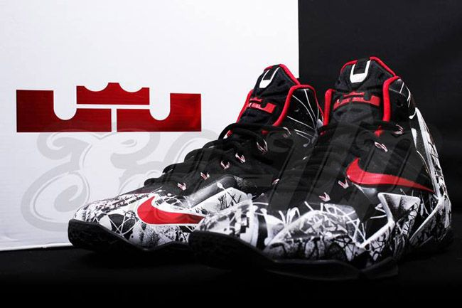 """Nike LeBron XI """"Graffiti†(Detailed Preview Pictures  3e0176ca6"""