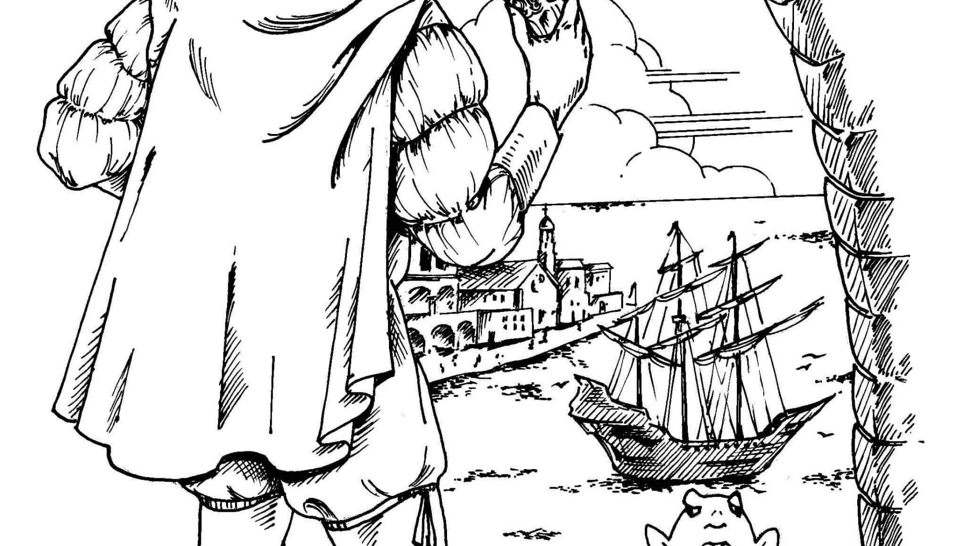 25 Inspirational Christopher Columbus Coloring Page In