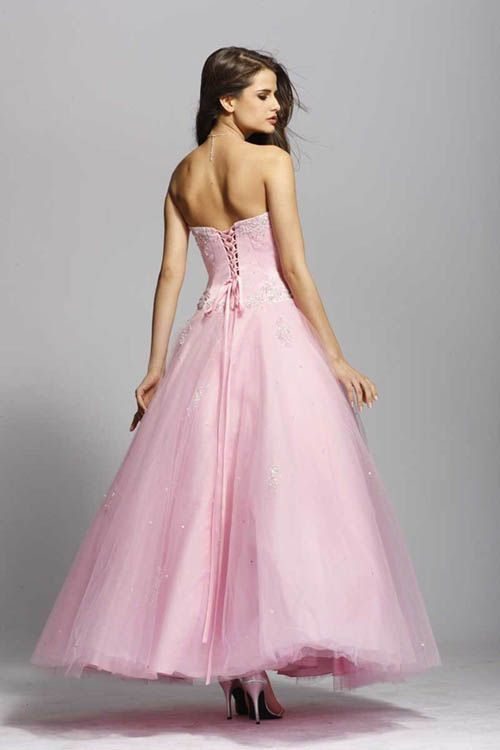 Beautiful Pink Prom Dress Fashion #promnation | Pretty in Pink ...