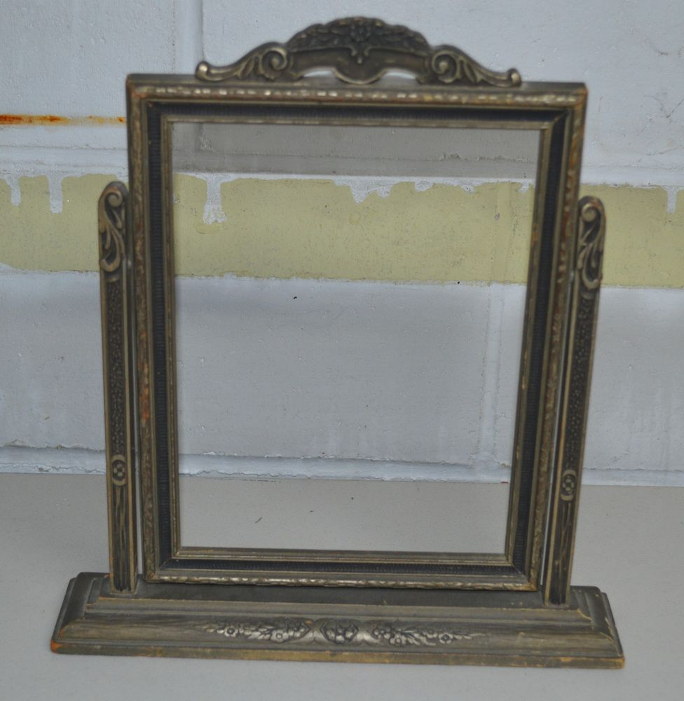 Details About Vintage Ornate Wooden Swing Picture Frame W