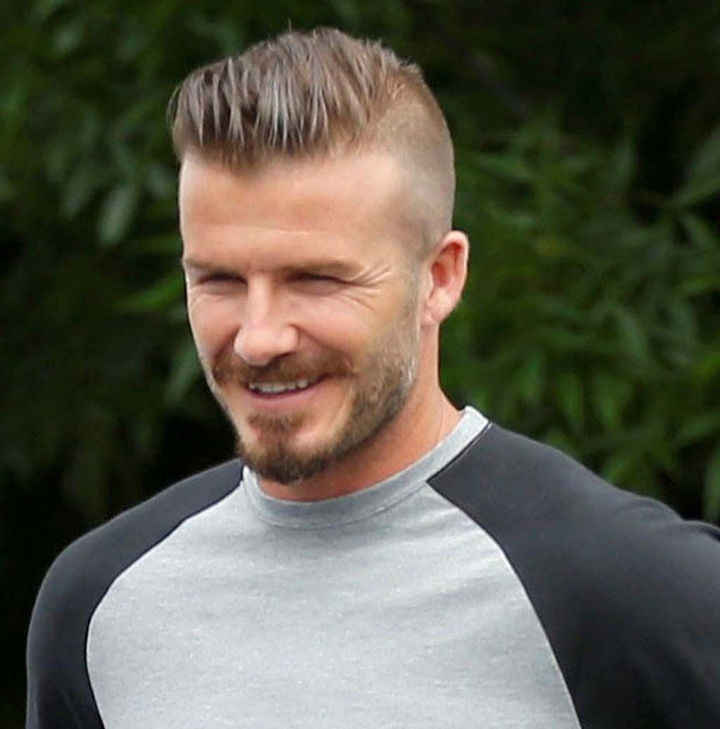 david beckham hairstyle picture gallery | frizura | frizura