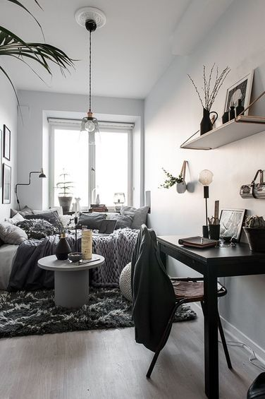 A Y Tiny Scandinavian Studio Apartment