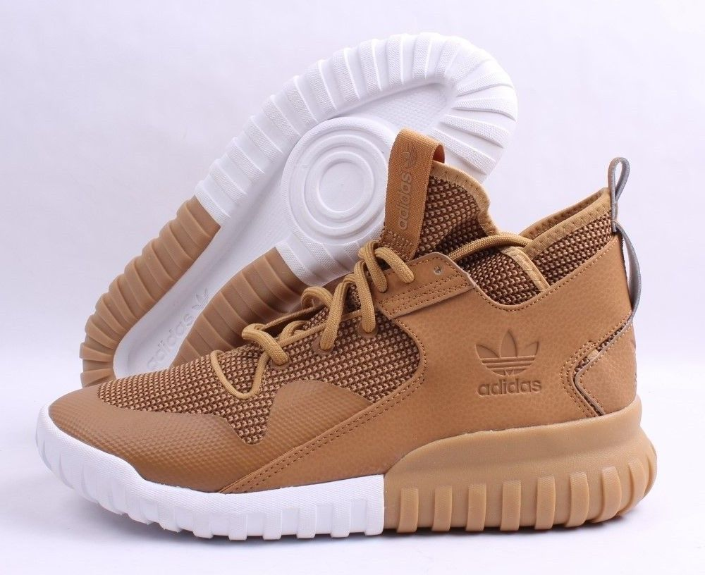good quality factory outlets more photos Details about Adidas Tubular X # S75513 Wheat & Gum Men SZ 9 ...