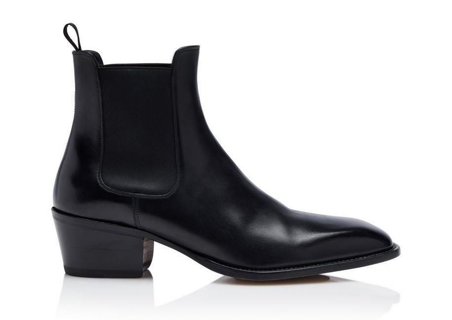 Tom Ford Webster Chelsea Boots In Black